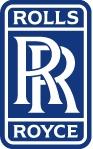 Rolls Royce Lozenge-White-on-Blue