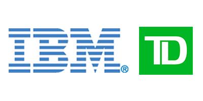 IBM - TD logos