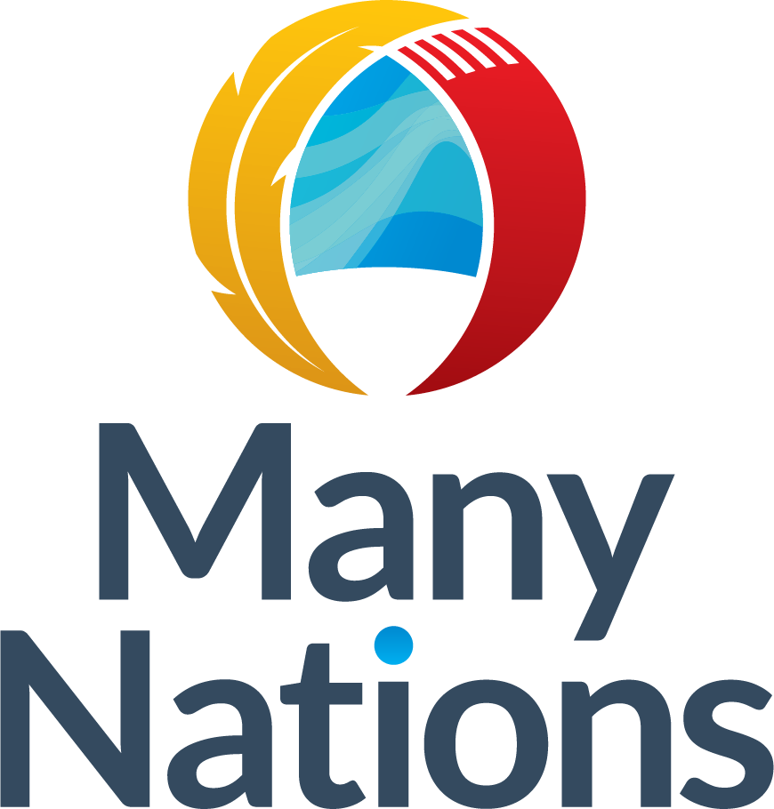 Many Nations Logo Vertical CMYK
